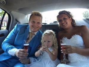 Wesley met zijn gezin!